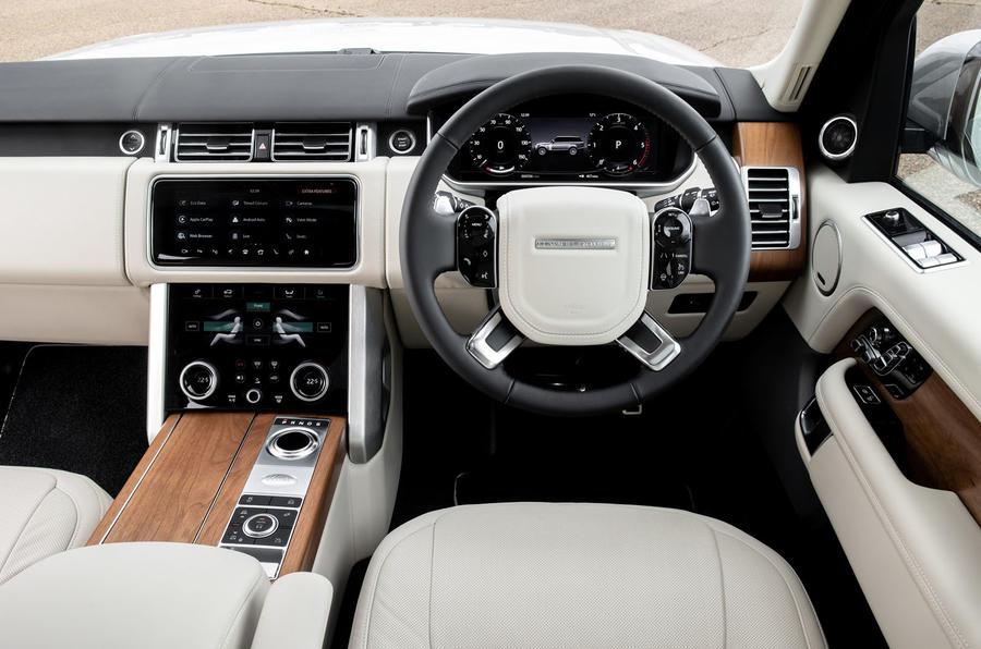 Land Rover Range Rover D300 2020 : premier bilan de conduite au Royaume-Uni - tableau de bord