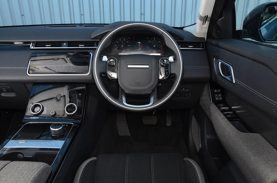 Land Rover Range Rover Velar 2019 UK first drive review - dashboard