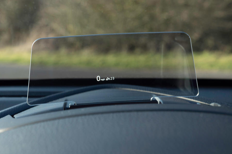 Mazda 2 Sport Nav 2020 UK first drive review - heads up display