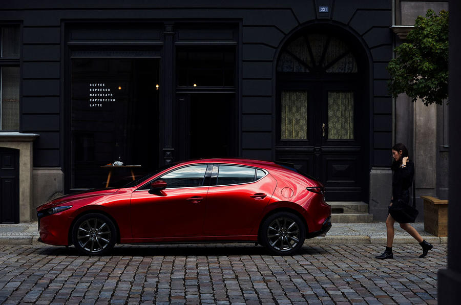 Mazda3 2018 official reveal - parked