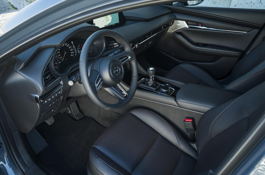 Mazda 3 2019 European first drive review - cabin