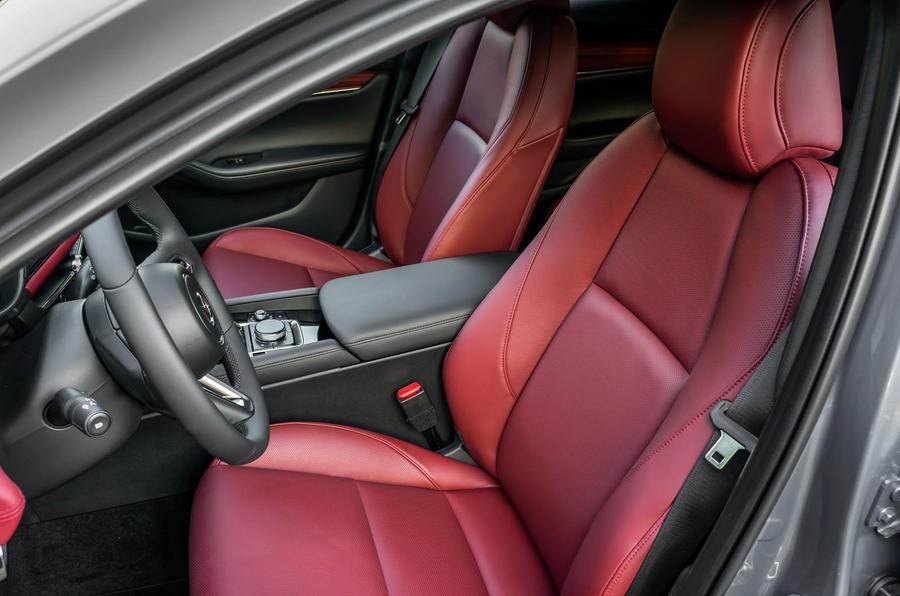 Mazda 3 Skyactiv-X 2019 first drive review - cabin