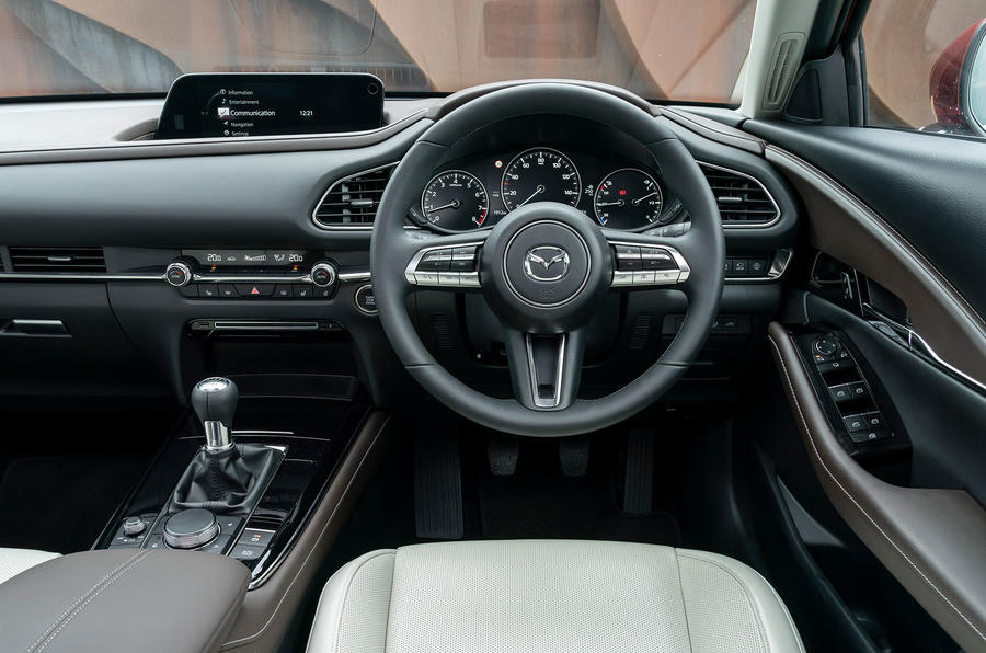 Mazda CX-30 2019 UK first drive review - dashboard