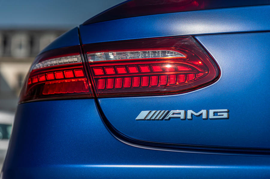 Mercedes-AMG E53 Cabriolet 2020 first drive review - rear lights
