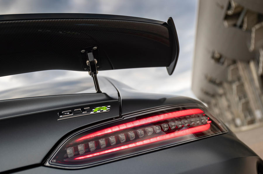 Mercedes-AMG GT R Pro 2019 first drive review - spoiler