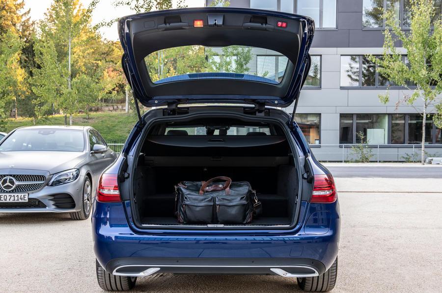Mercedes-Benz C-Class C 300de estate 2018 first drive review - boot