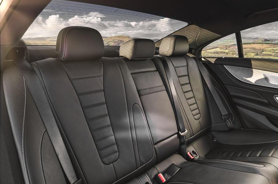 Mercedes-Benz CLS 450 2018 UK review rear seats