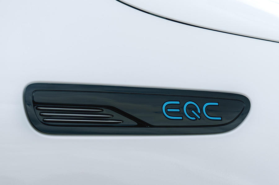 Mercedes-Benz EQC 400 2019 UK first drive review - side details