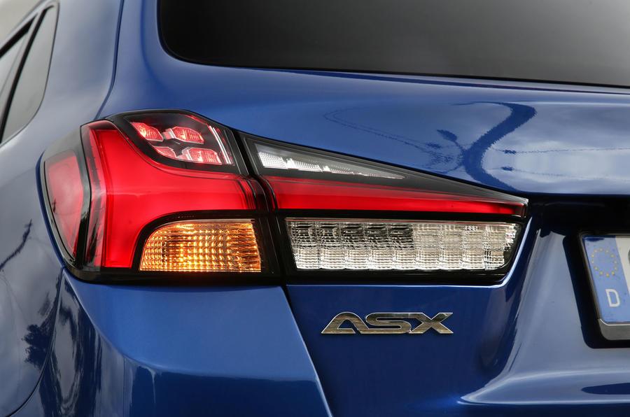 Mitsubishi ASX 2019 first drive review - rear lights
