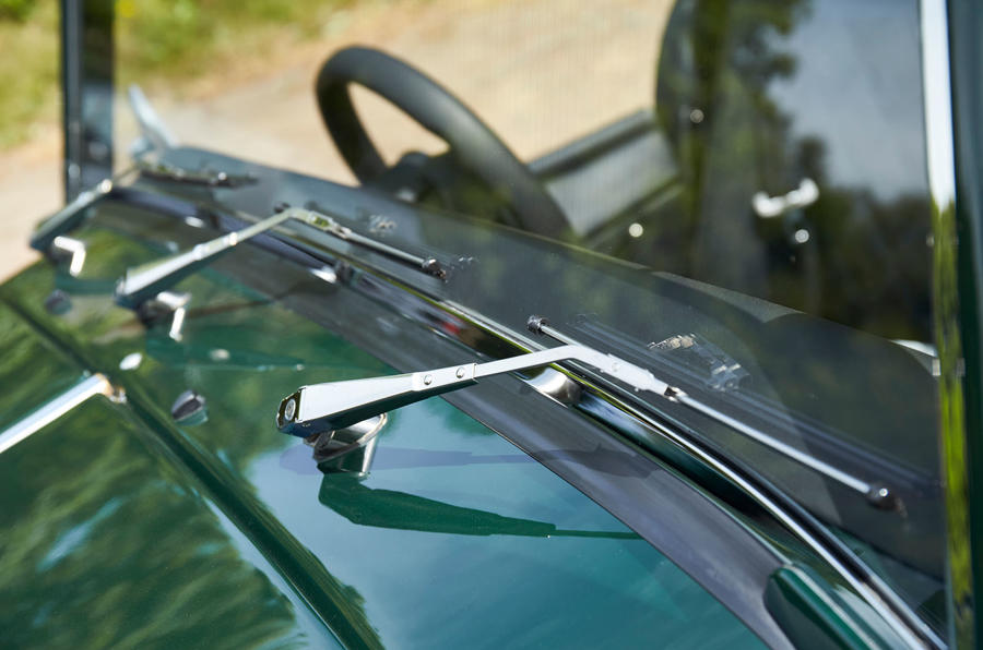 Morgan Plus Four 2020 UK first drive review - wipers
