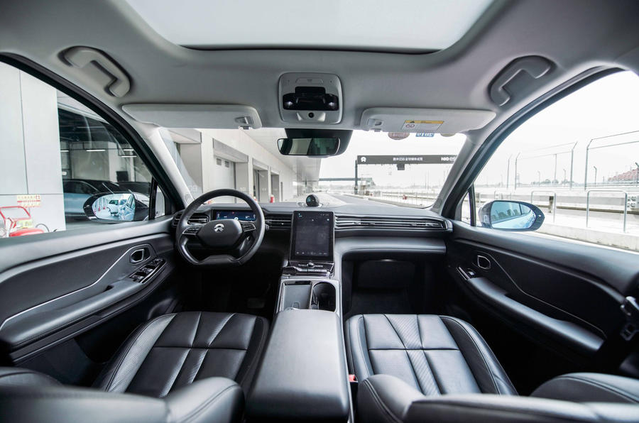 Nio ES6 2019 first drive review - cabin