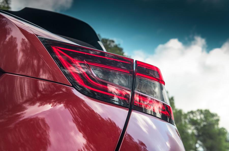 Nissan Juke 2019 first drive review - rear lights