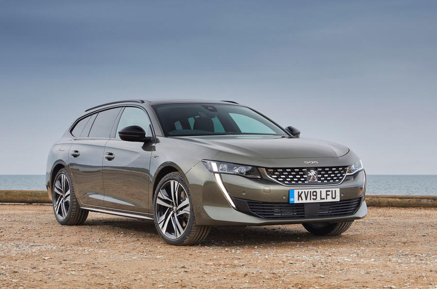 Peugeot 508 SW PureTech 225 GT 2019 UK first drive review - static front