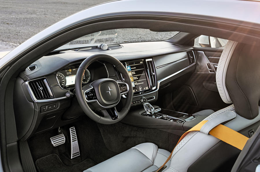 Polestar 1 2019 first drive review - cabin