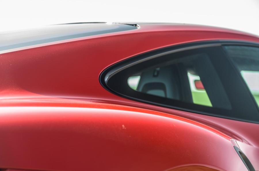 Porsche 911 Turbo S 2020 UK first drive review - side glass