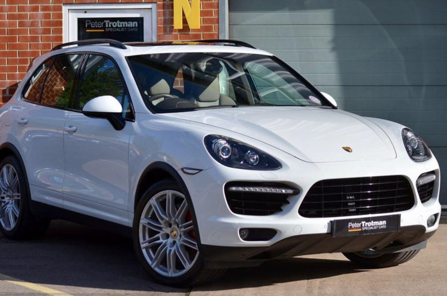 Porsche Cayenne Turbo - static front