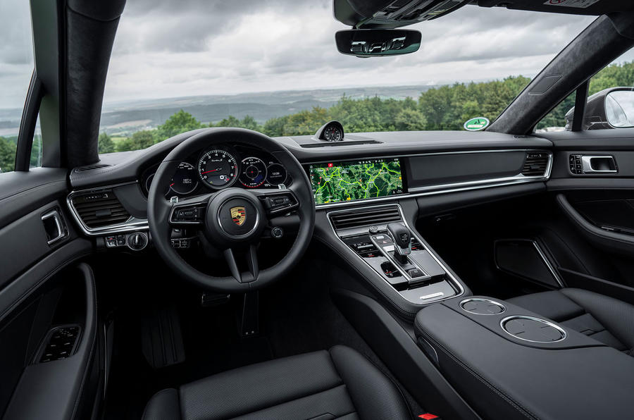 Porsche Panamera Turbo S Sport Turismo 2020 first drive review - dashboard