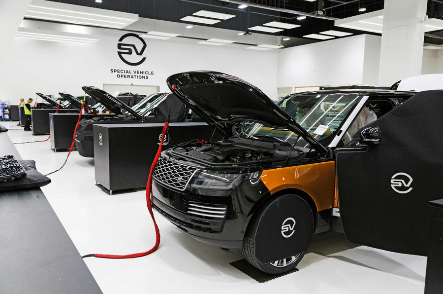 Range Rover Sentinel 2019 - engine