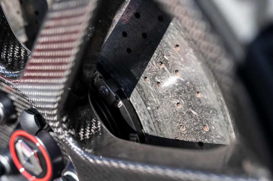 Renault Megane Trophy R 2019 first drive review - brake discs