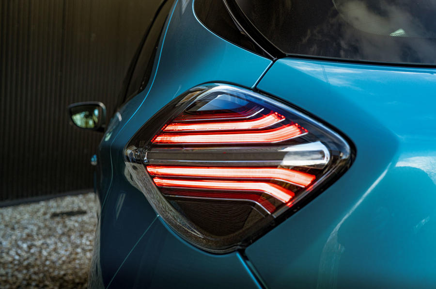 Renault Zoe 2020 UK first drive review - rear lights