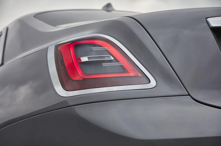 Rolls Royce Ghost 2020 UK first drive review - rear lights