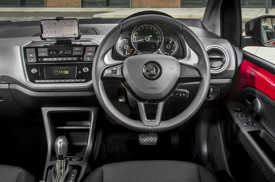 Skoda Citigo-e iV 2020 UK first drive review - dashboard