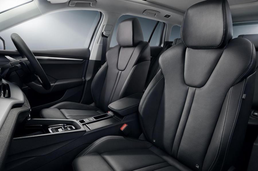 Skoda Octavia estate 2020 UK first drive review - cabin