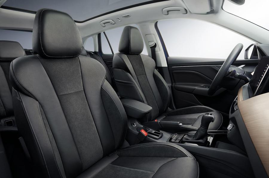 Skoda Scala 2019 first drive review - cabin