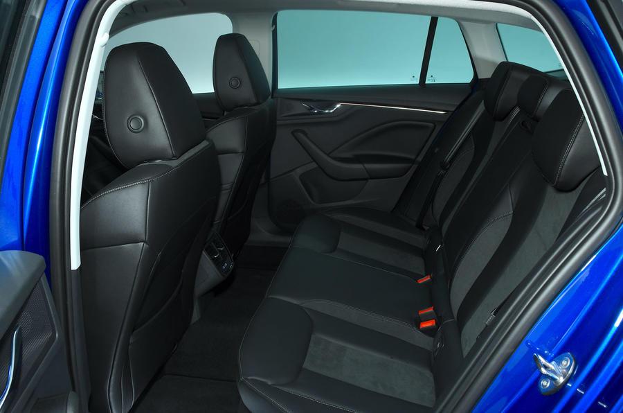 Skoda Scala 1.6 TDI 2019 UK first drive review - rear seats