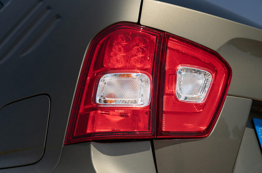 Suzuki Ignis hybrid 2020 UK first drive review - rear lights