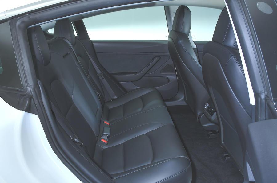Tesla Model 3 Standard range Plus 2019 first drive review - rear seats