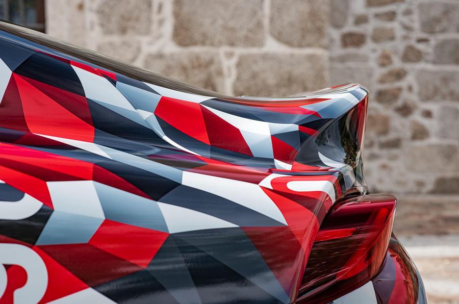 Toyota Supra prototype wing