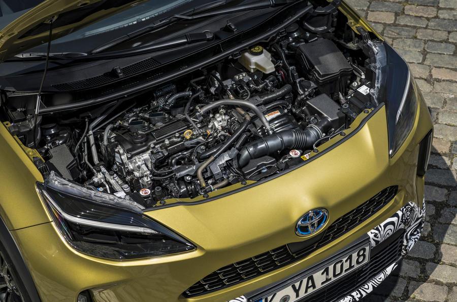 7 Toyota Yaris Cross 2021 UE LHD moteur préprogrammé