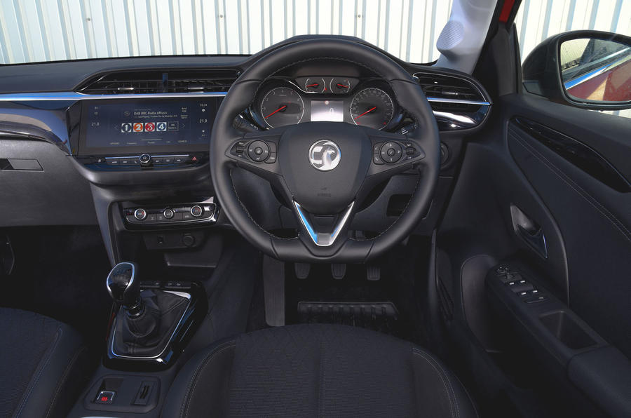Vauxhall Corsa 2019 UK first drive review - dashboard