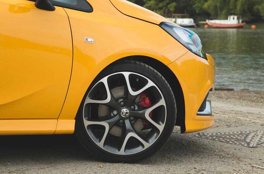 Vauxhall Corsa GSi 2018 UK first drive review alloy wheels