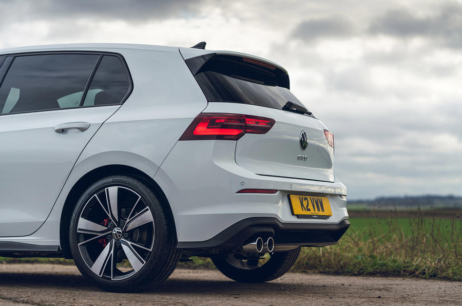 7 Volkswagen Golf GTD 2021 : premier examen des systèmes d'échappement au Royaume-Uni