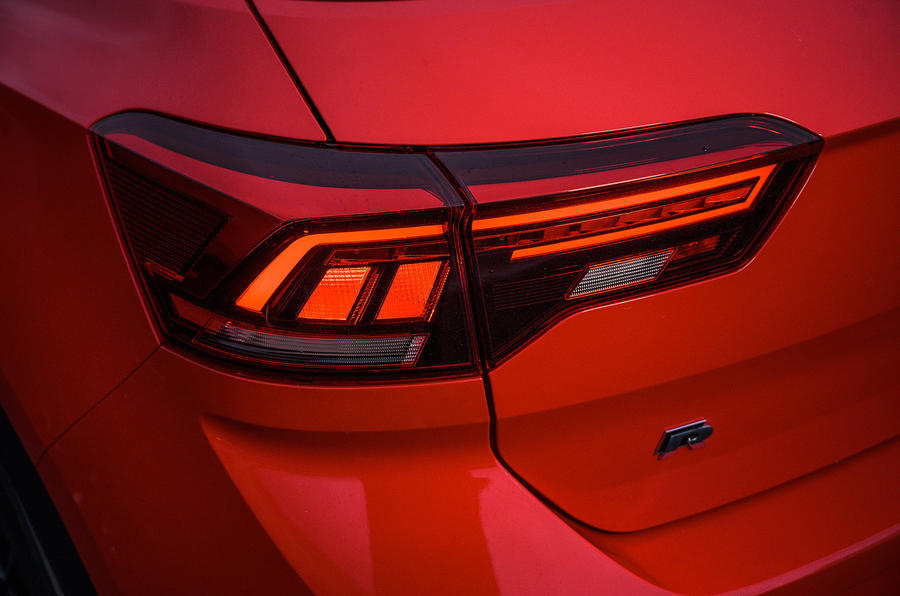 Volkswagen T-Roc R 2020 UK first drive review - rear lights