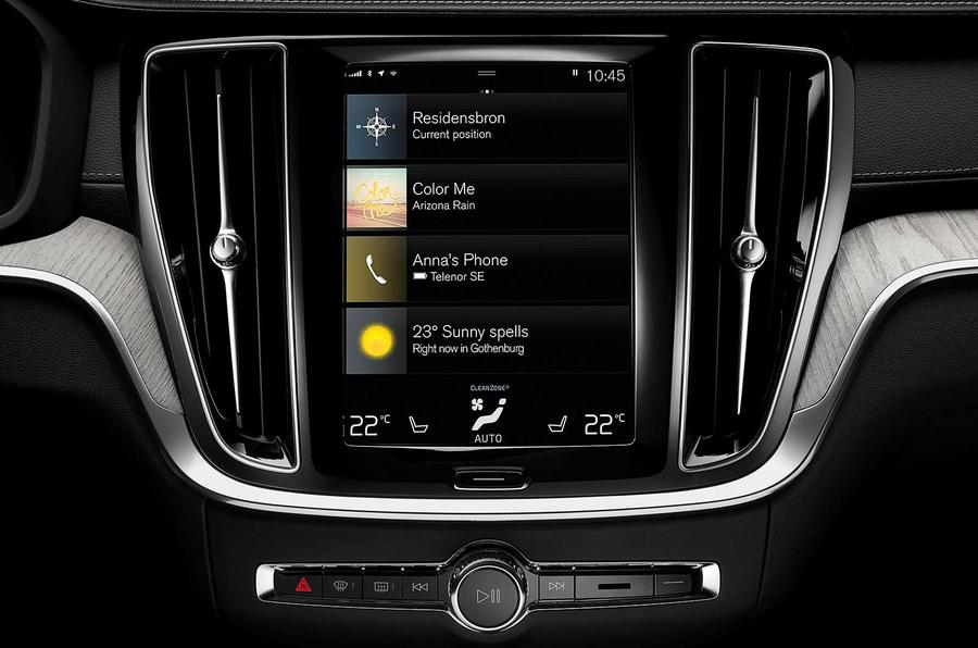 Volvo V60 2018 review infotainment