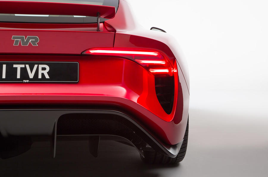TVR Griffith - static rear