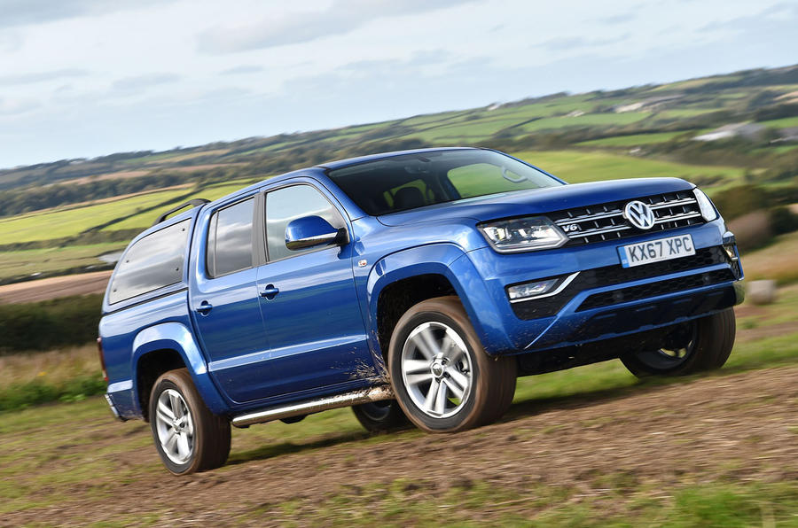 Volkswagen Amarok V6 2018 UK review offroad front
