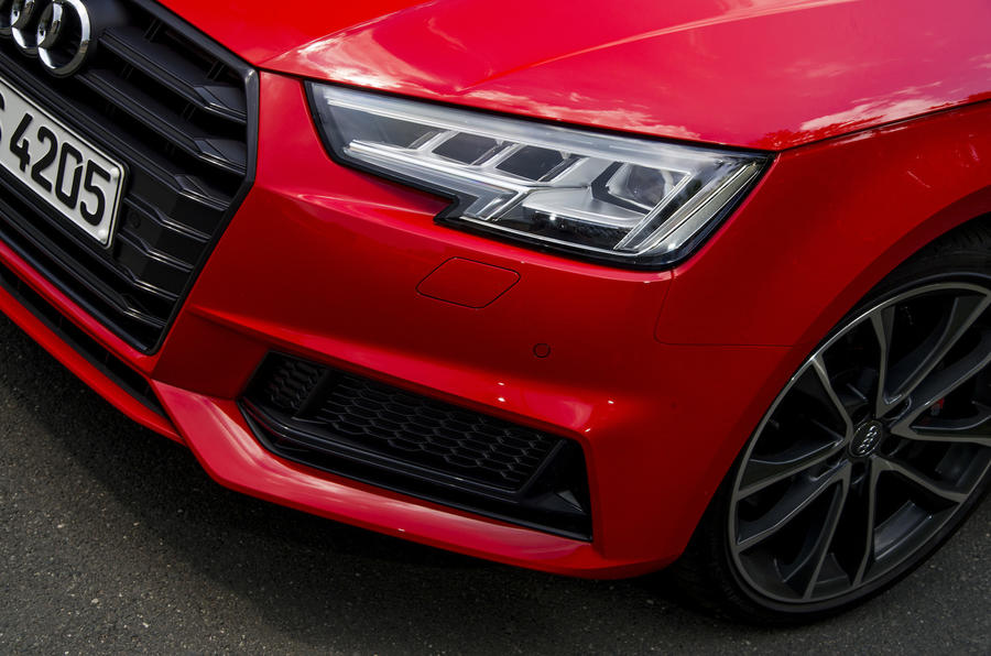 Audi S4 LED headlights