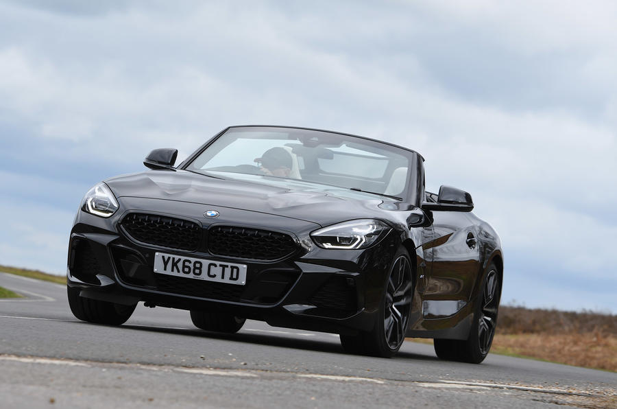 BMW Z4 - tracking front