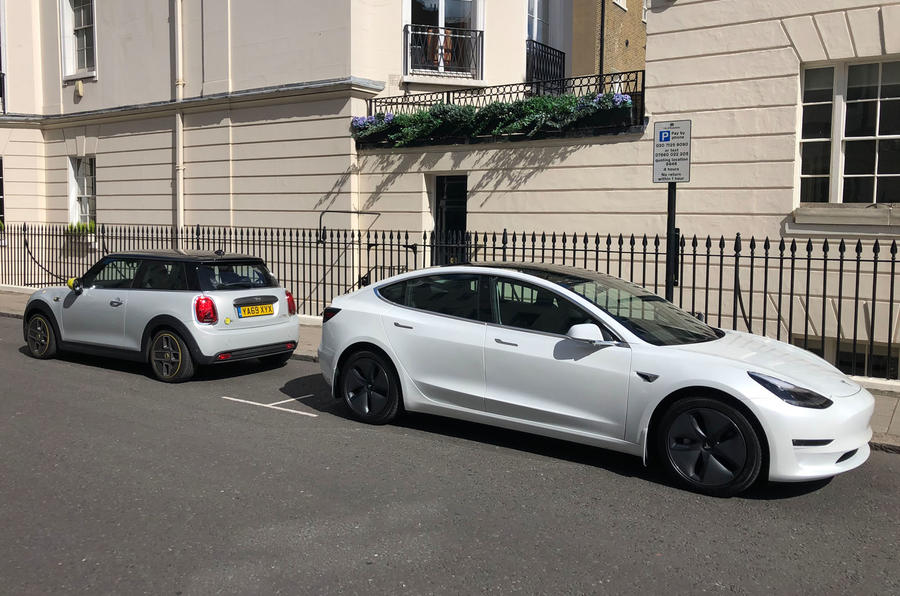 a month with a Mini Electric - with Tesla