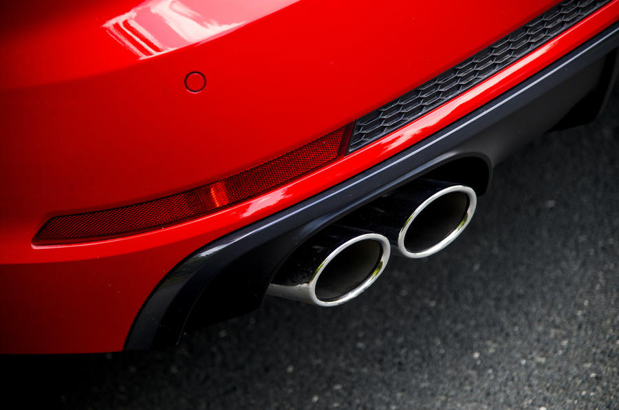 Audi S4 quad exhaust