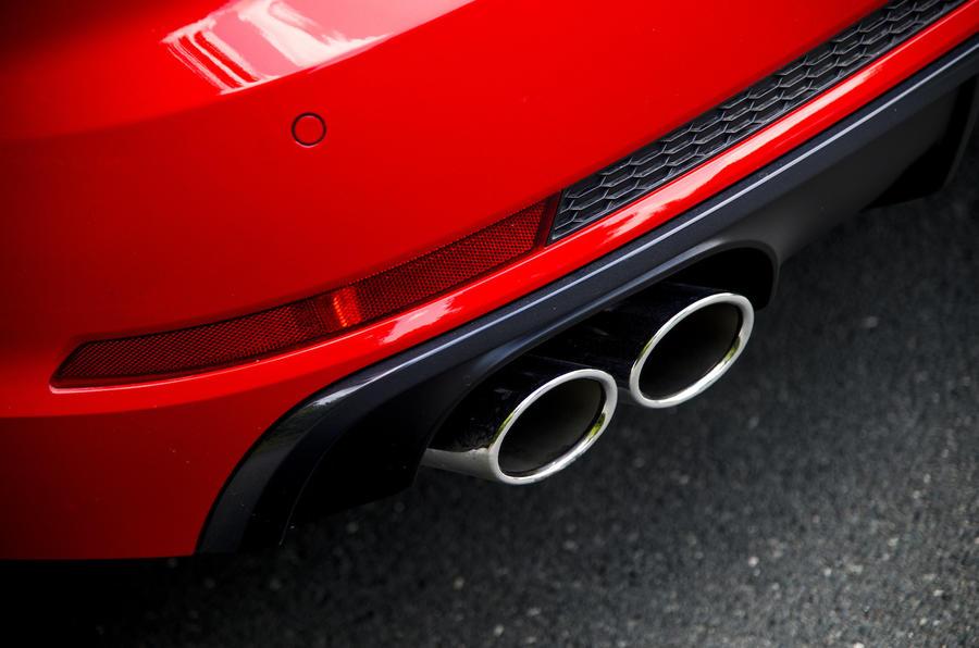 Audi S4 quad exhaust
