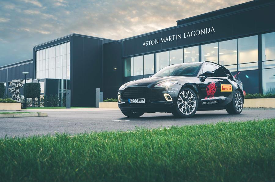 Aston Martin DBX at St Athan