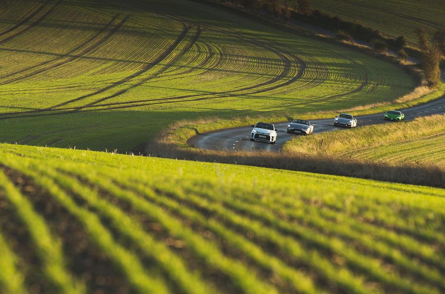 Britain's best drivers car 2020 - fields