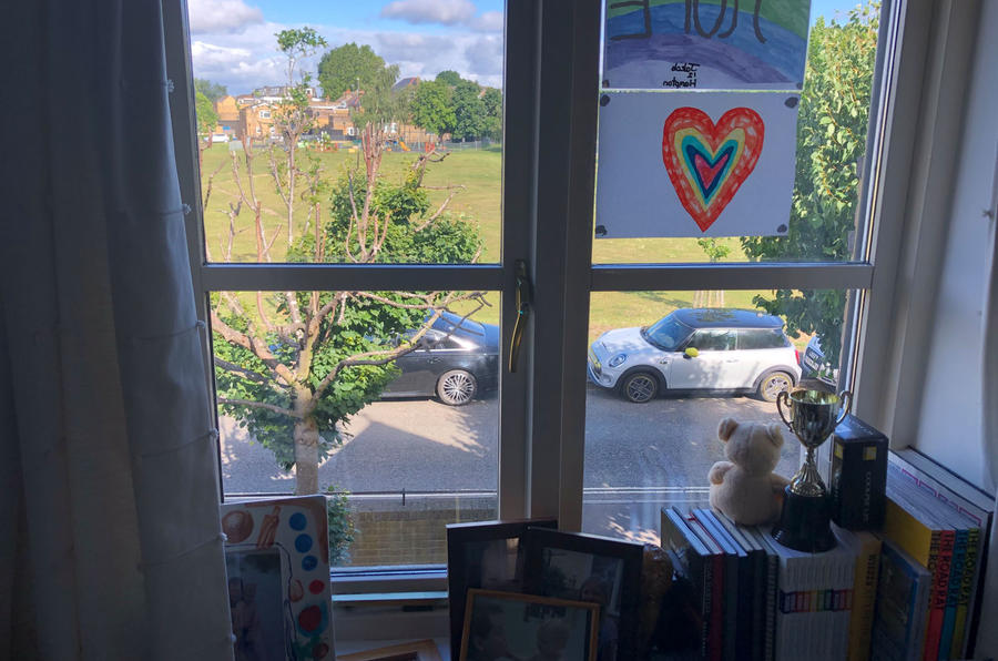 a month with a Mini Electric - at home