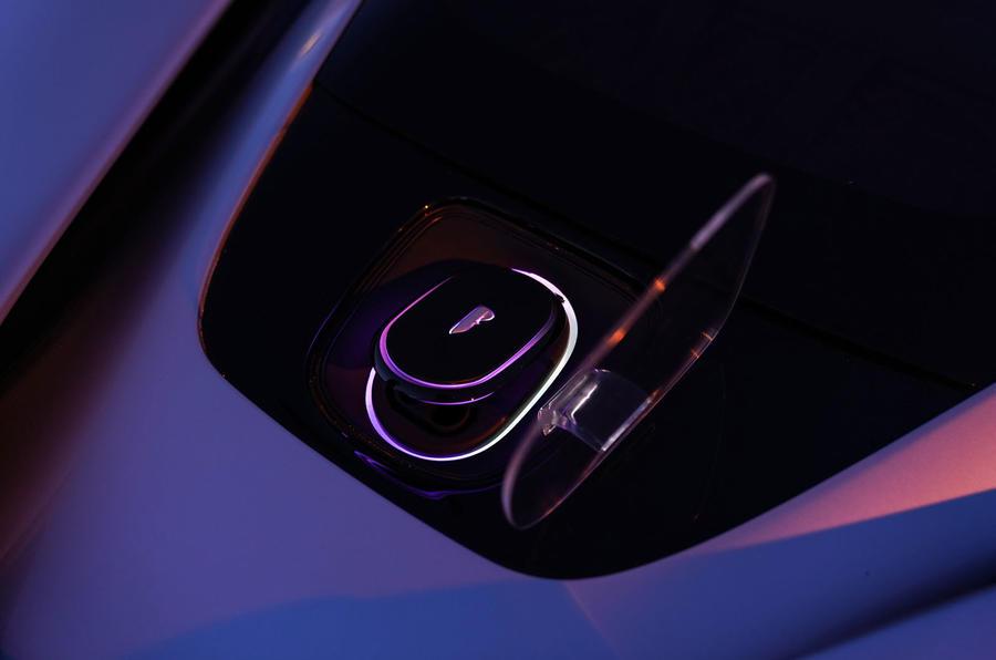 Pininfarina Battista 2019 first drive review - charging port