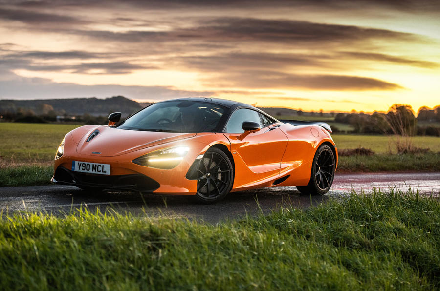 McLaren 720S Track Pack 2018 UK first drive review - static front